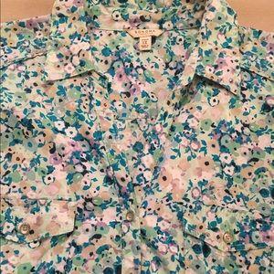 Sonoma Floral Print Shirt